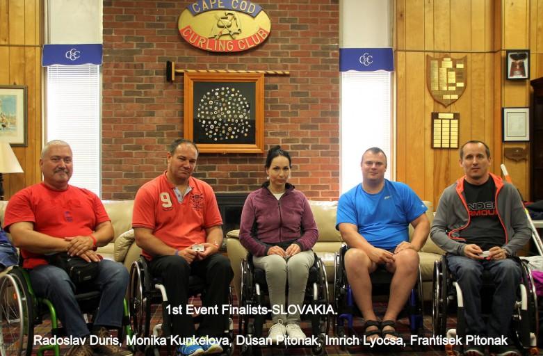 Curling na vozíku: finálová účasť na turnaji v USA