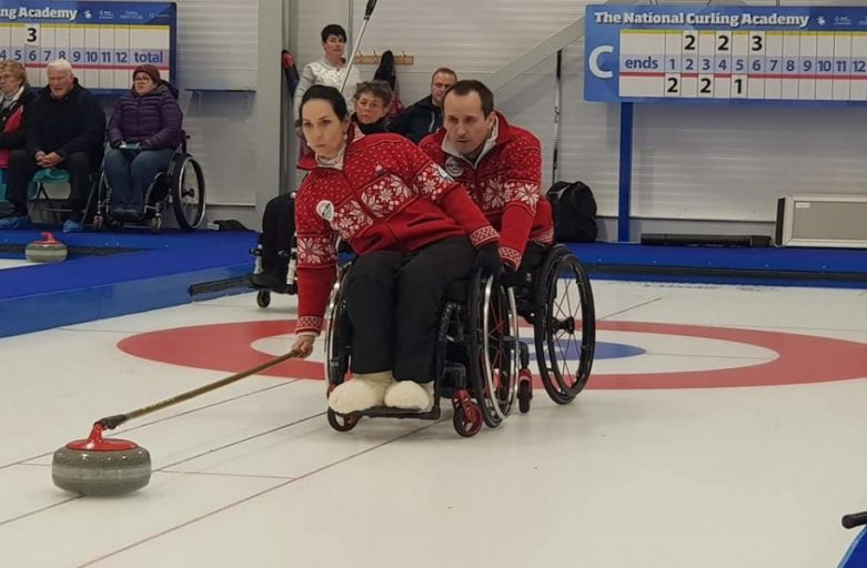 Mixed Doubles Wheelchair Curling